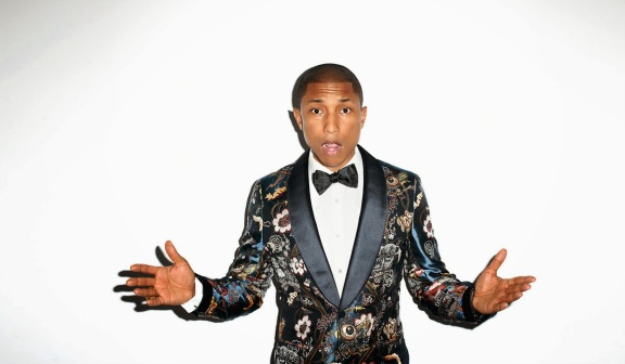 Pharrell Williams - nog steeds happy